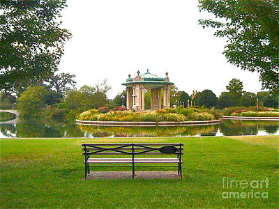 Photograph - Serene Seating by Barbara Plattenburg