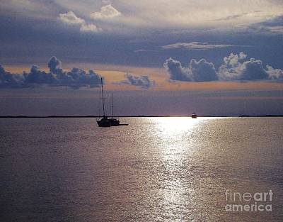 Photograph - Serene Sunset by Michelle Welles