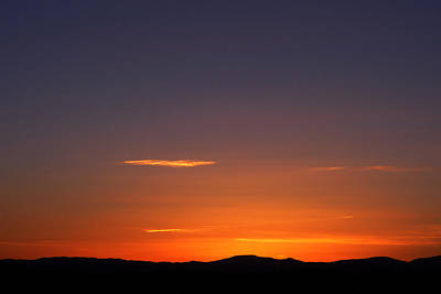 Photograph - Serene Sunset by Paul Cutright