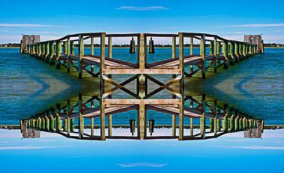 Pier Digital Art - Serenity by Betsy Knapp