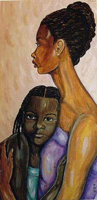 Painting - Serenity by Brenda Dulan Moore