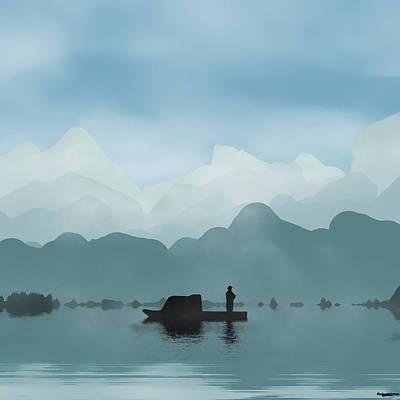 Serenity Art Print by Robert Matson