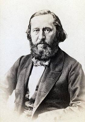 Slavic Photograph - Serge Aksakov 1791-1859, Russian by Everett