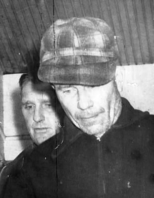 1950s Portraits Photograph - Serial Killer Ed Gein, Plainfeld by Everett