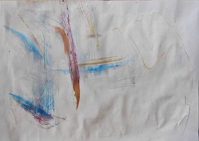 Interpersonal Painting - Series 25 Number 80 by Ulrich De Balbian