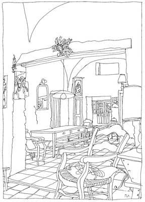 Serignac 3 Art Print by Leonid Petrushin