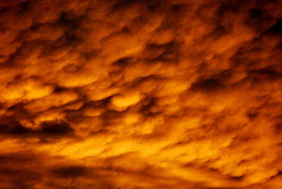 Photograph - Serious Clouds by Kathy Sampson