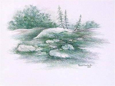 Drawing - Serpentine by Renee Goularte