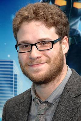 Gibson Amphitheatre At Universal Citywalk Photograph - Seth Rogen At Arrivals For Monsters Vs by Everett