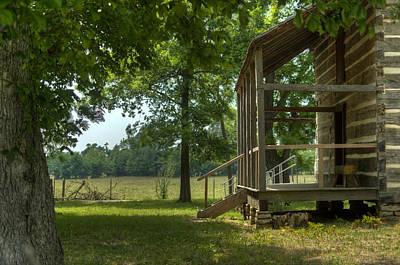 Settlers Cabin Arkansas 1 Art Print by Douglas Barnett