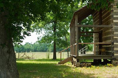 Settlers Cabin Arkansas 4 Art Print by Douglas Barnett