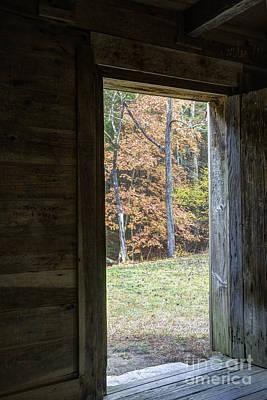 Photograph - Settler's Cabin by David Waldrop