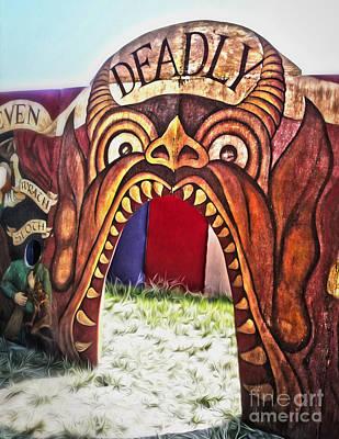 Seven Deadly Sins - Devil Art Print by Gregory Dyer