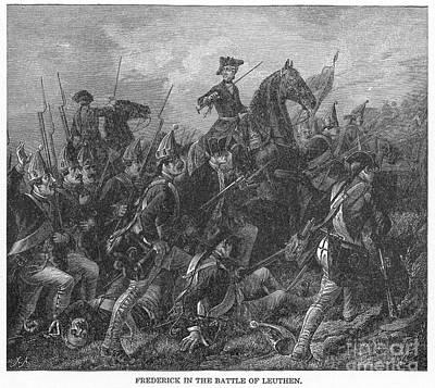 Seven Years War Photograph - Seven Years War (1756-63) by Granger