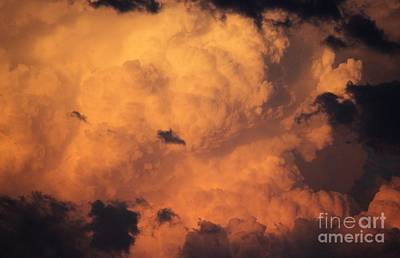 Photograph - Severe Thundercloud by Erica Hanel