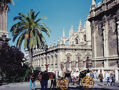 Photograph - Seville Awaits You by Barbara Plattenburg