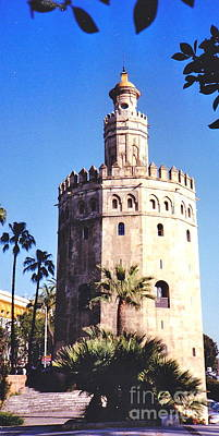 Photograph - Seville Gold Tower by Barbara Plattenburg