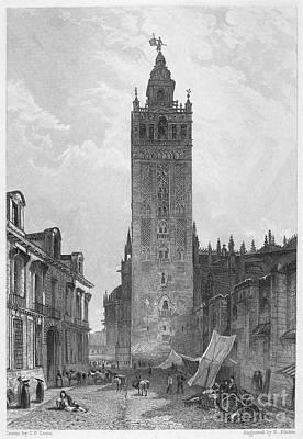 Seville: The Giralda Art Print by Granger