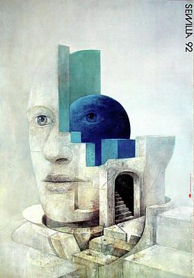 Mixed Media - Sewilla 92 by Wiktor Sadowski