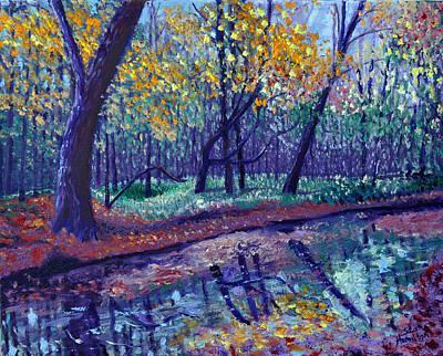 Painting - Sewp Creek by Stan Hamilton