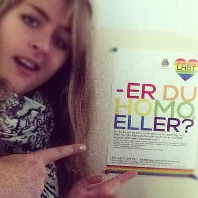 Er Photograph - Sex & Samfunn 👍 #er #du #homo #eller by Maria Smith