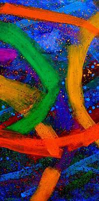 Giclee Mixed Media - Sextet   Iv  by John  Nolan