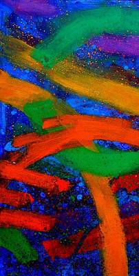 Abstract Expressionism Painting - Sextet  I by John  Nolan