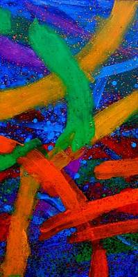 Abstract Expressionism Painting - Sextet II by John  Nolan