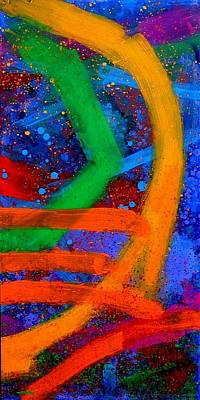 Abstract Expressionism Painting - Sextet  Vi by John  Nolan