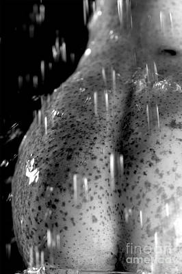 Photograph - Sexy Pear Taking Shower by Igor Kislev