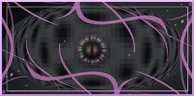 Sexy Space Roamer Art Print