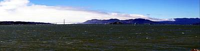 Photograph - Sf Bay Panorama by Michael Courtney
