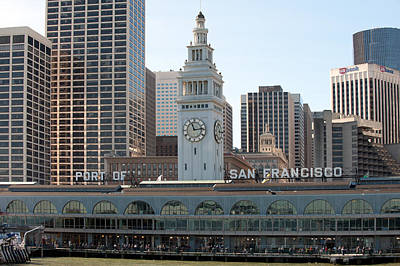Photograph - Sfo - View From The Ferry by Gary Rose