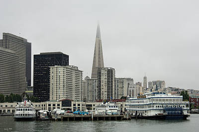 Photograph - Sfo - Waterfront by Gary Rose
