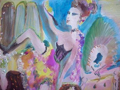 Shabby Chic The Dancer Original