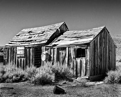 Photograph - Shack And Wash Pan by Joe  Palermo