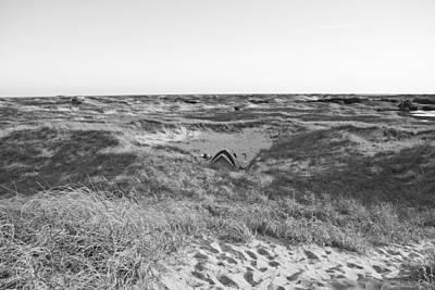 Coastal Landscape Digital Art - Shackleford Banks Camping by Betsy Knapp