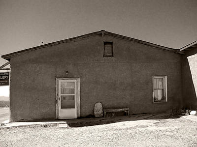 Photograph - Shaded Adobe by Kathleen Grace
