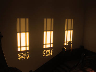 Briex Photograph - Shades And Sun In The Boijmans Van Beuningen Museum by Nop Briex