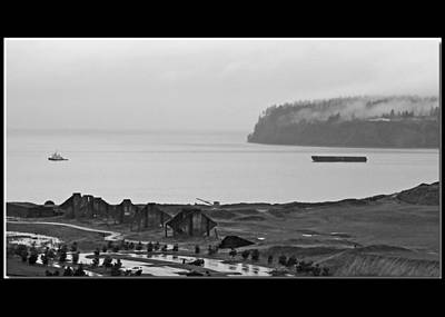 Photograph - Shades Of Gray - Chambers Bay Golf Course by Chris Anderson