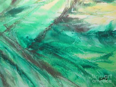 Painting - Shades Of Green by Stella Sherman