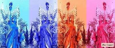 Shades Of Liberty 2 Original by Ron Cramer