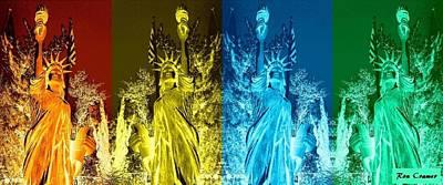 Shades Of Liberty Original by Ron Cramer