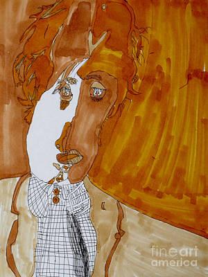 Mccartney Drawing - Shades Of Paul by Stephanie Ward