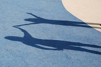 Photograph - Shadow Friends by Richard Bryce and Family