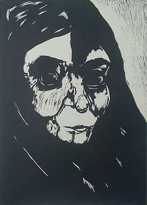 Shadow Art Print by Nesli Sisli