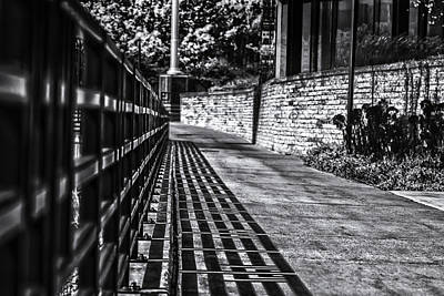 Art Print featuring the photograph Shadow Walk by Tom Gort