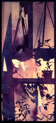 Painting - Shadows 1975 by Nancy Griswold