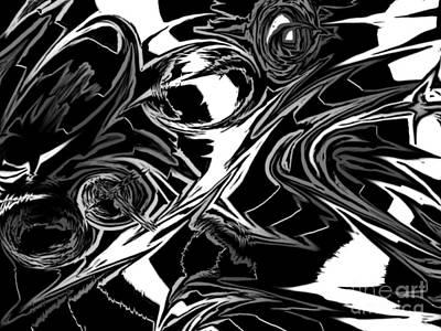 Shadows Art Print by Justin Blanton