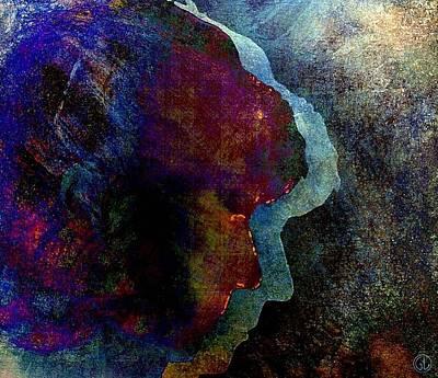 Cut Out Digital Art - Shadows Of Me by Gun Legler